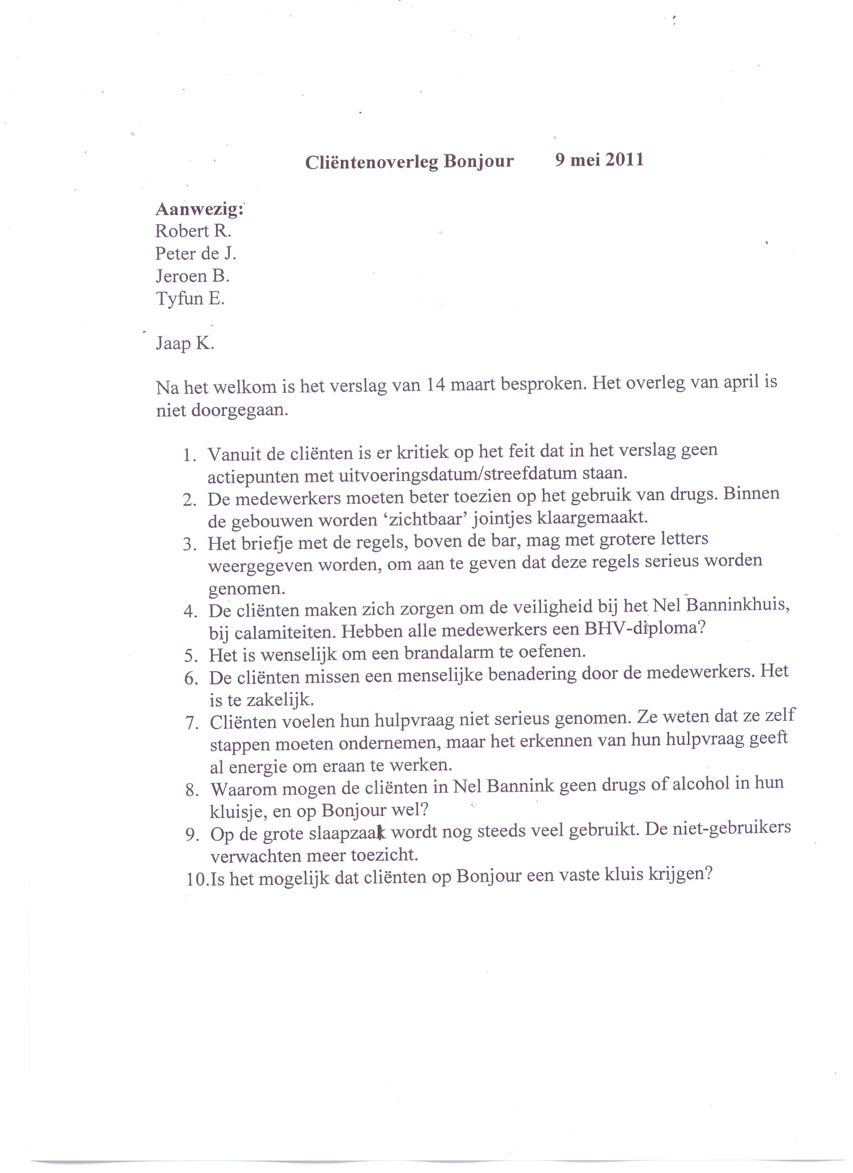 Klachtenbrief Opbouw | hetmakershuis