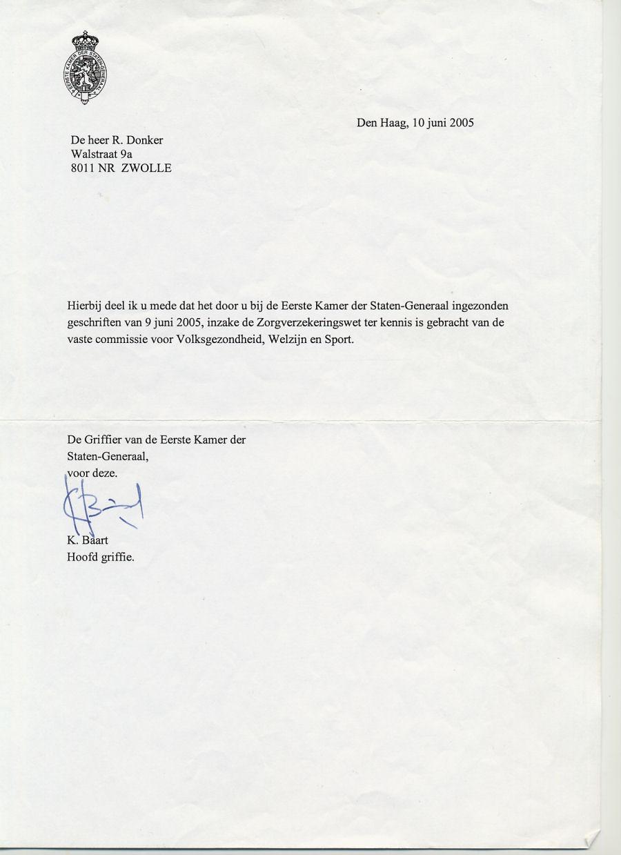 voorbeeldbrief machtiging persoon FW: mening Landelijke vereniging dak  en thuislozen over  voorbeeldbrief machtiging persoon
