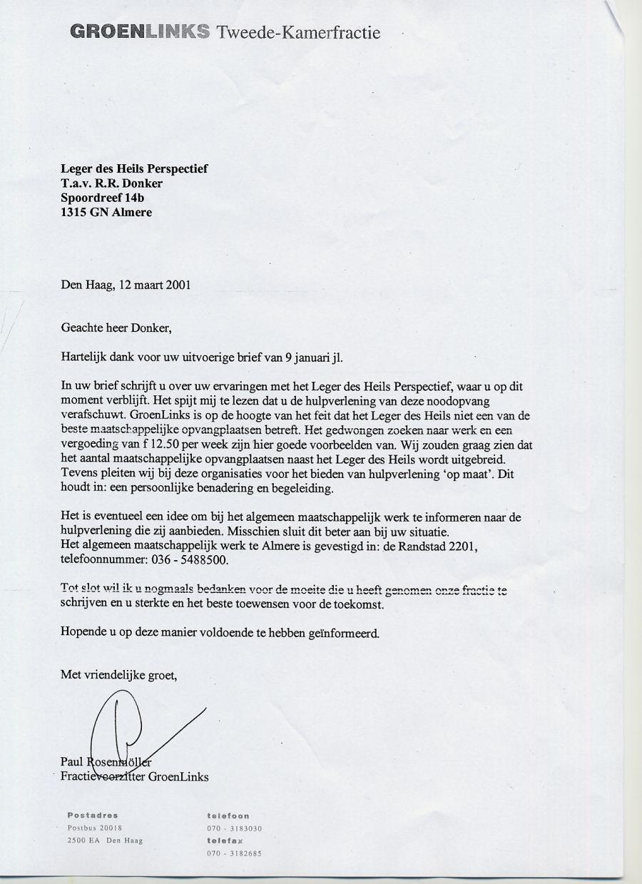 ontslagbrief ziekenhuis voorbeeld De landelijke en lokale PvdA zijn ook voor geen meter te  ontslagbrief ziekenhuis voorbeeld